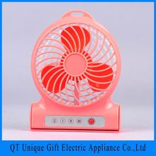 2016 New Premium Home Appliances Cartoon Operated Portable Mini Hand Fan