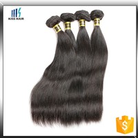 "2015 Hot Selling 10""-28"" straight human hair unprocessed virgin indian hair"