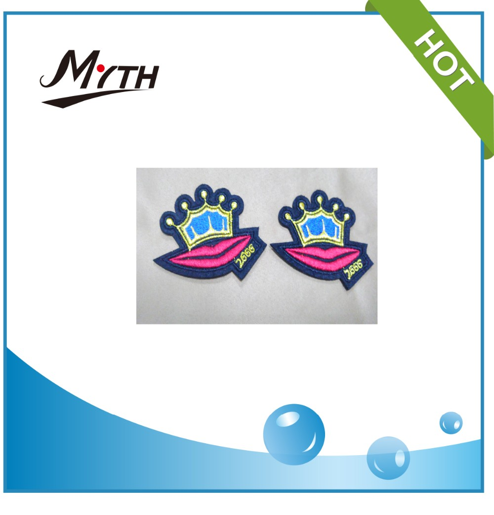 China Factory Supply latest design Cheap Prices dog embroidered patches,free digital embroidery designs