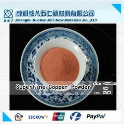 Gold supplier of good quality ultrafine copper powder