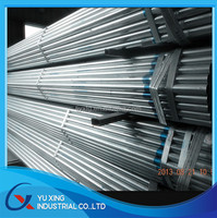 High quality , lowest price Hot dip galvanized steel pipe ,galvanized steel tube manufacturer