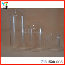 Home Glassware Custom Size Bell Slass Style Round Glass Dome