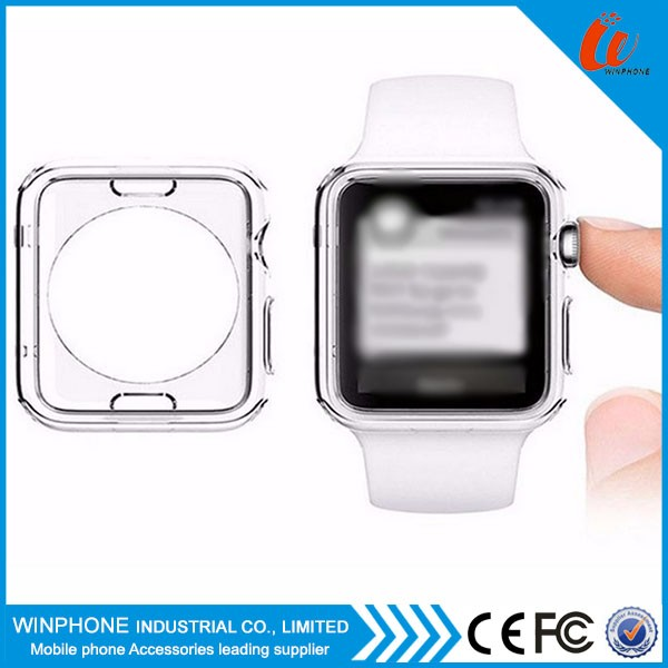 Protective case for apple watch, for apple watch case cover tpu case, wholesale China