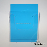 High Quality Brochure/Literature Holder Countertop and Wall Mount Pamphlet Display Acrylic ST-WBMHA5 E