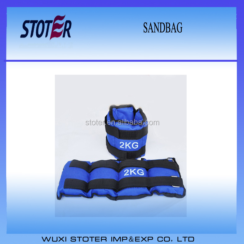 Iron sand leggings strapped wrist ankle weight sandbag