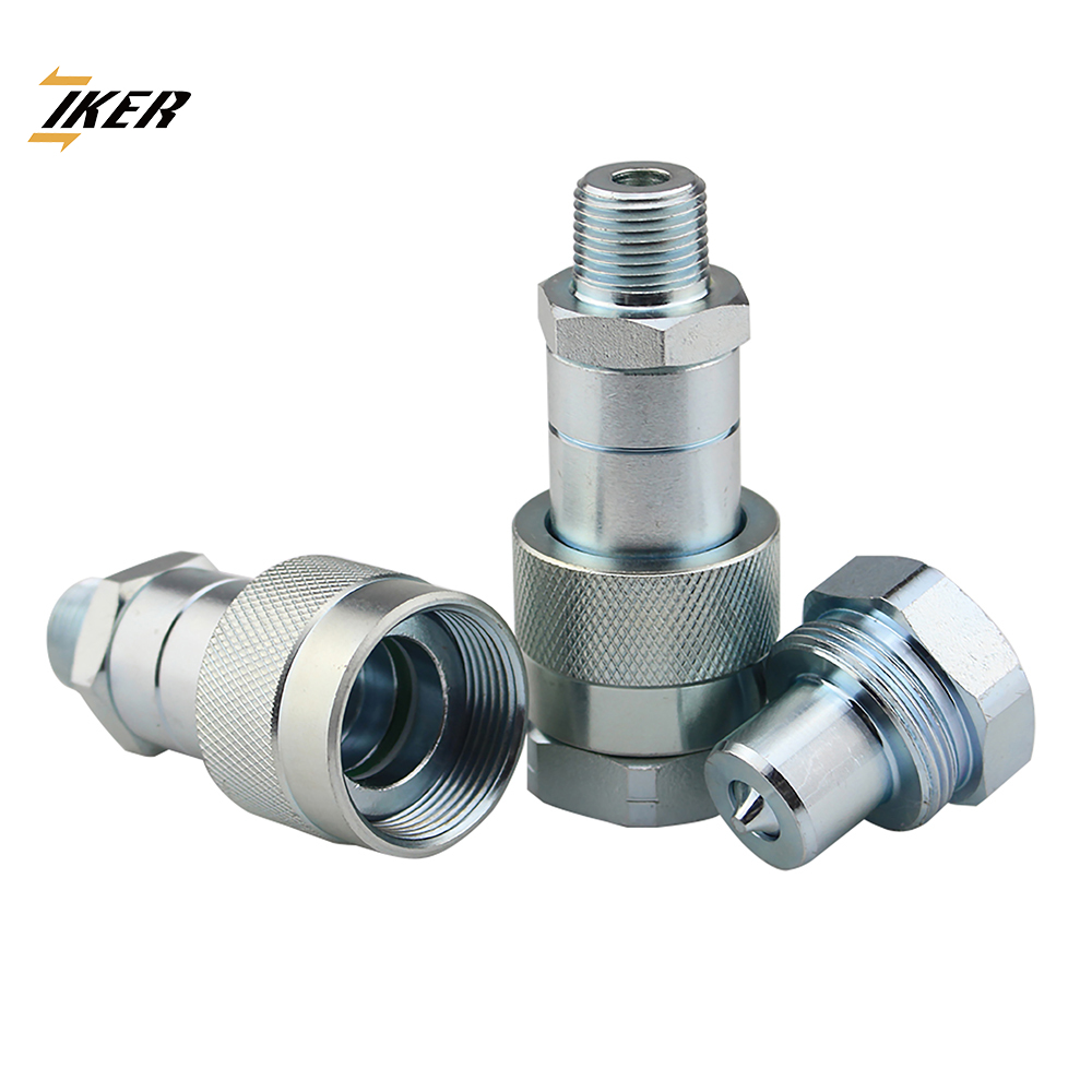 KZE-B 700 bar 10000PSI screw to connected hydraulic quick release coupling