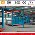 Continuous Overhead Rail Shot Blaster/ Sand Blast Cleaning Equipment Price for Rims
