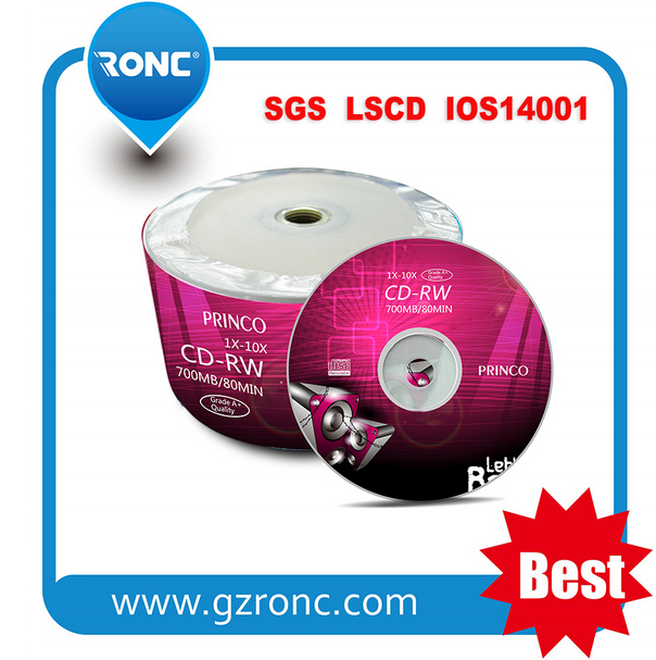 Ronc Factory wholesale memory 700mb cdrw/cd-rw/rewritable cdr