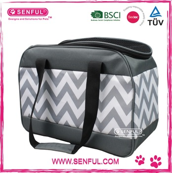 New Dog shoulder bag Classic Printing Pet Carrier