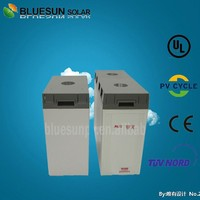 Bluesun deep cycle UPS maintenance free solar battery 2v 1000ah