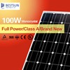 Mono solar panel 100W for home off-grid system