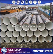 API 5L X46 SSAW Spirally Welded Steel Concrete Lined Pipes for Natural Gas Transmission