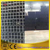 Structure carbon square steel pipe for carbon weight of pipe fittings