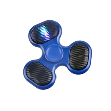 Musical Finger Hand Toy USB Recharging TF Card LED Bluetooth Fidget Spinner