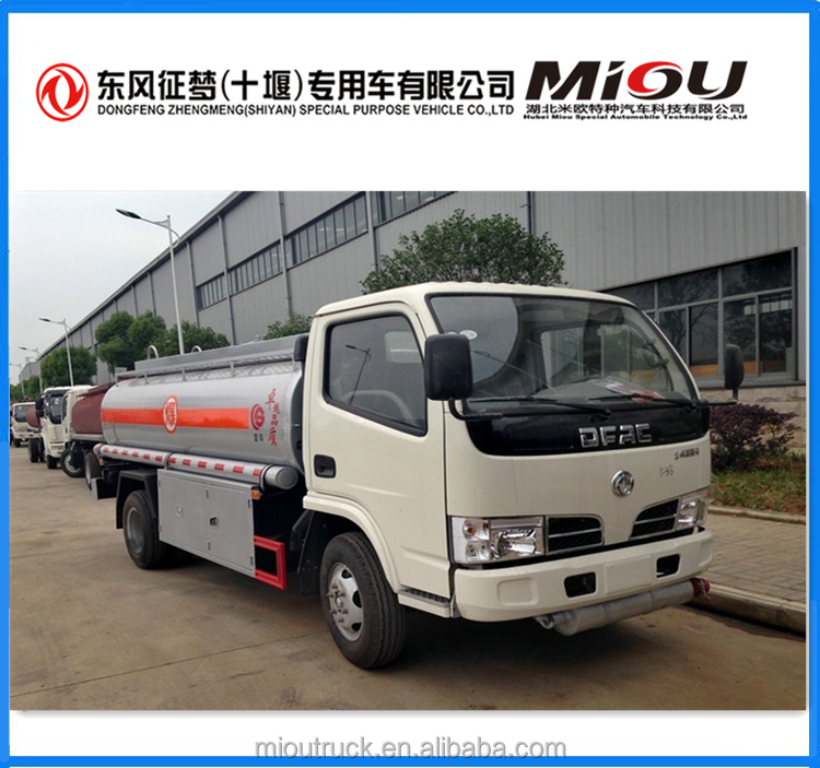 Manufacture 102 hp powder tank truc 4x2 powder material tank truck for sale