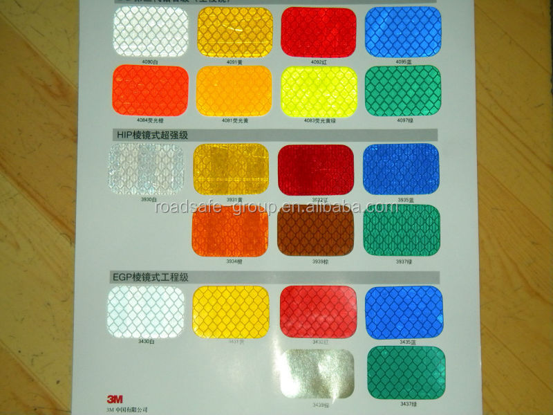 Reflective material with reflective glass beads adhesive Road marking tape