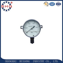 China gold supplier professional bourdon tube pressure gauge