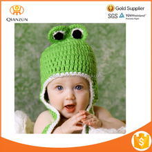 winter knitted kids handmade crochet animal bear ear pattern baby hat