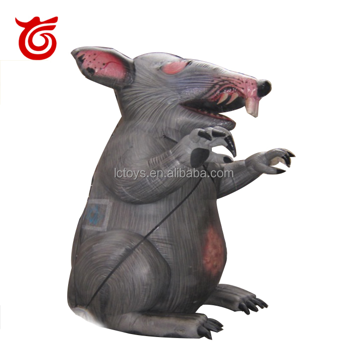 Promotional advertising animals giant inflatable rat for sale