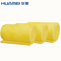Glass wool insulated roofing sheets fiberglass insulation industrial thermal glass wool insulation blanket