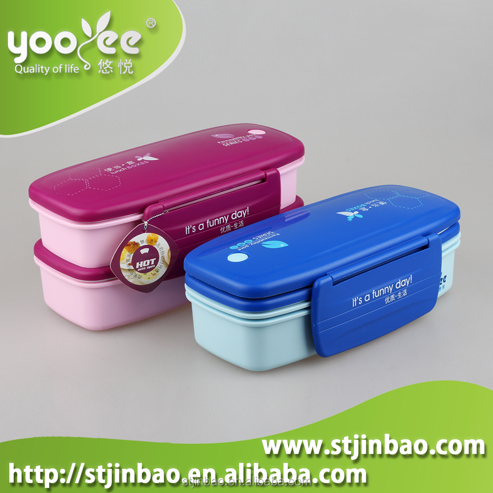Cute Bento Lunch Box Food Storage Containers 2 Tier - Buy ...