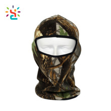Custom New 3 Holes Camouflage Thermal Fleece Balaclava With Neck Warmer Masks Hoods Paintball Hats Tactical Camo Full Face Mask