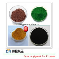 synthetic powder red color pigment/iron powder price ton/iron pigment price