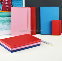 Hot sale custom cover color Printed edge note book /planner