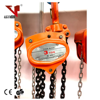 Best selling high efficiency heavy duty chain pulley block High Performance Manual
