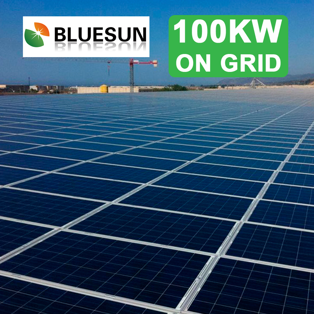 Commercial Use 100kw solar power system for factory farms US standards