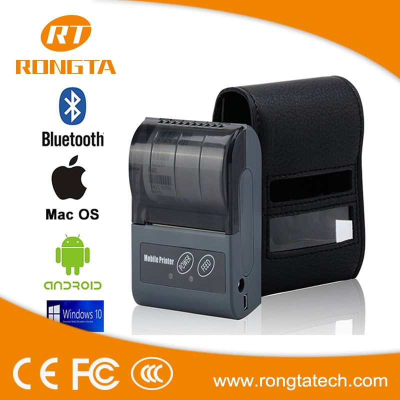 Factory direct sale cheap price bluetooth support RPP02N portable mini printer with rechargeable battery