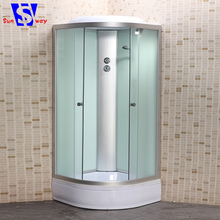 SW-9901M modern design cheap price fabric glass shower cubicle