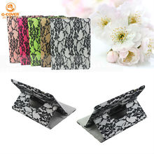 For ipad case 9.7inch tablet,pu+lace