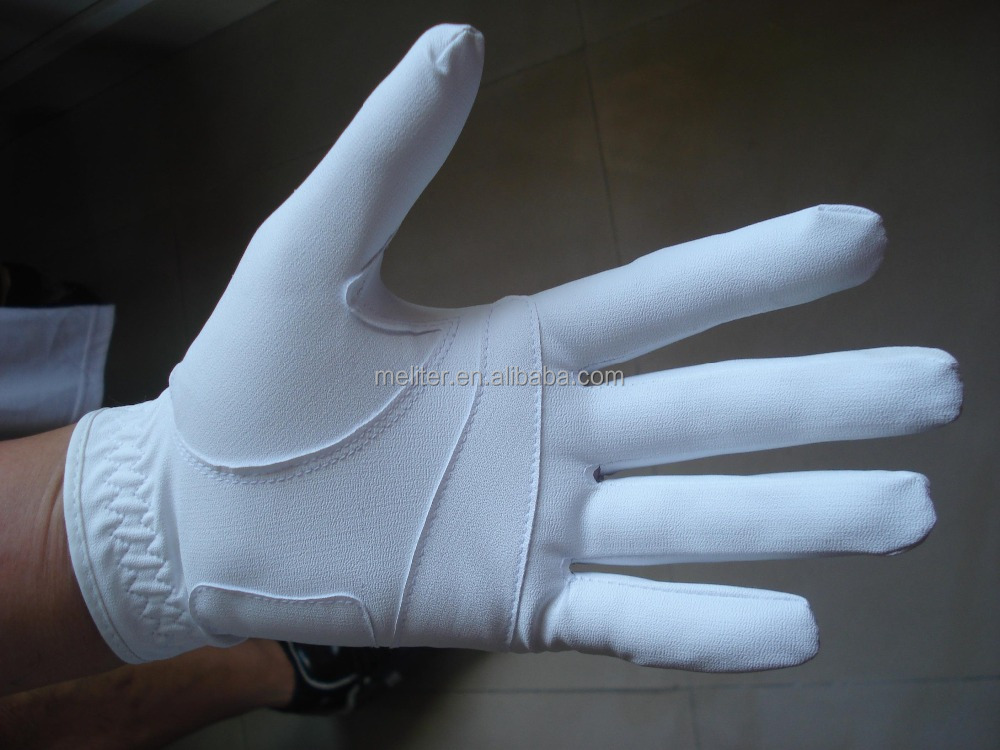 Wholesale Customized Colored cabretta or fleece golf gloves