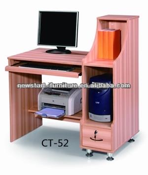 Nuevo dise o de oficina de madera mesa de ordenador con el for Precio mesa oficina