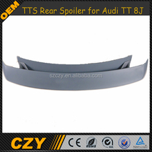 TTS Aftermarket Car Parts FRP Car Rear Trunk Spoiler for Audi TT 8J