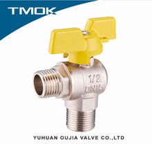 Hot sell Butterfly handle Gas Ball valve