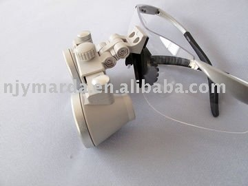 Ymarda Flip-up CH-F 3x waterproof Dental Surgical Magnifier/Magnifying glass Loupe