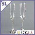 First Year Anniversary Gifts Hand Polished Champagne Glass Giant Champagne Flutes TradeAssurance Alibaba China