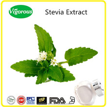 bulk pure natural sweeteners 50%-97% Rebaudioside A stevia extract