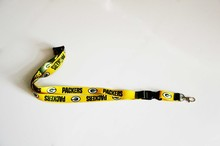 Reversible Green Bay Packers NFL Lanyard New Badge Ticket ID Holder Key Ring