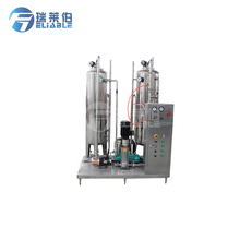 Automatic gas beverage mixer / co2 carbonated beverage mixing machine for soft drinks