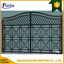 courtyard usage black iron gate designs simple NT--WIA101
