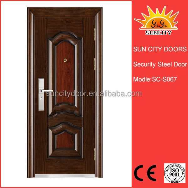 Modern security stainless steel <strong>doors</strong> price
