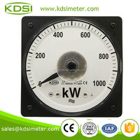 Mechanical LS-110 380V 1600 / 5A 1000KW volt amp watt meter