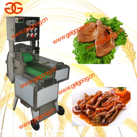 Pig ear slicing machine / Roast pork meat slicing machine / Braised food slicing machine