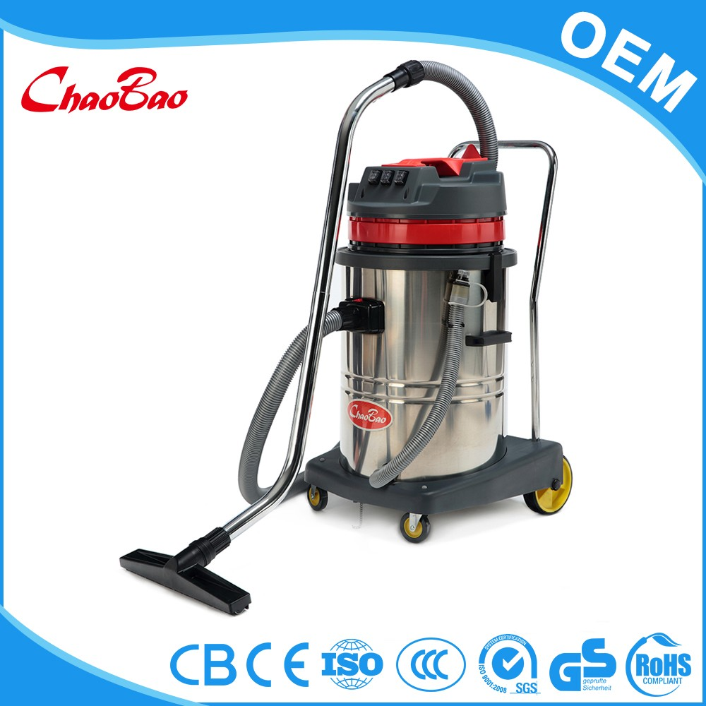 Good vacuum cleaner with central vacuum cleaner hose and plastic pipe