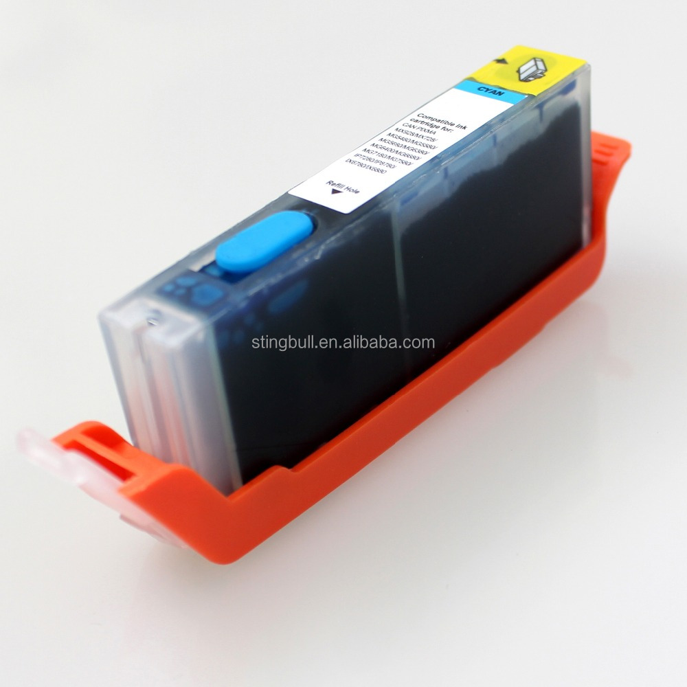 Compatible ink cartridge PGI725 for pinter ix6560
