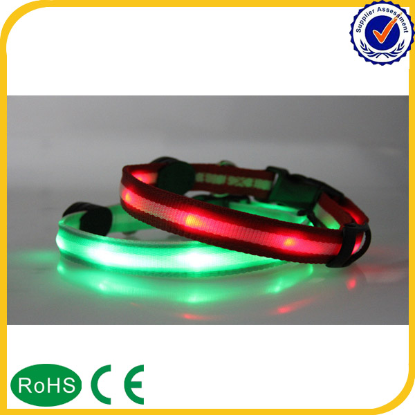 2016 New Products LED Flashing Collar Dog