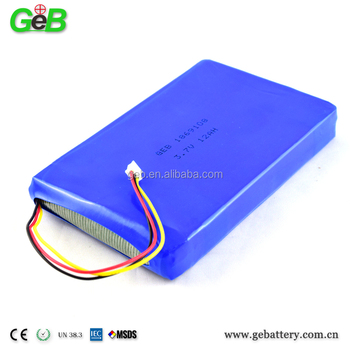 3.7v 12000mah li-ion GPS Tracker Replacement Battery Lithium polymer Batterys